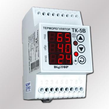 Терморегулятор DigiTOP ТК-5В для отопления с 3-мя датчиками t